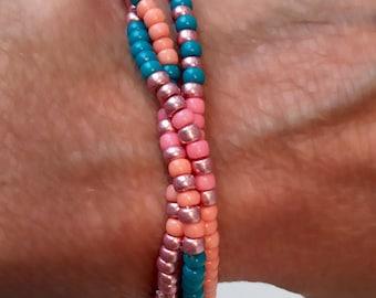 Summers bracelet, set of 3.