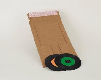 "45 RPM Vinyl Record 7"" Protective Shipper"