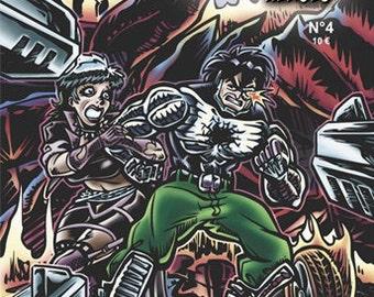 Elonan Heroes 4, BD, superheroes, comic book