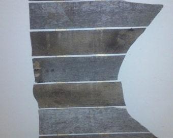 Reclaimed wood Minnesota: spaced