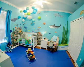 Custom Hand Painted One-of-a-Kind Murals for your Nursery, Kid's Room, Play Room or anywhere in your home