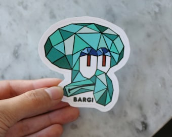 Squid Sticker