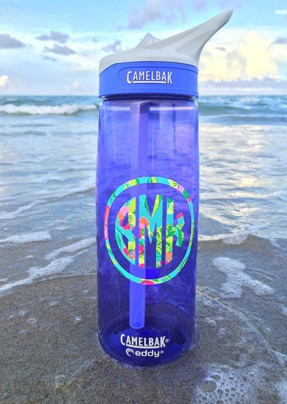 Camelbak Water Bottle Custom Lilly Pulitzer Inspired Monogram