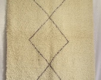 Beni Ouarain Morroccan carpet Handmade #B19#