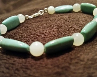 Cool, Calm, and Collected!  Turquoise Bracelet