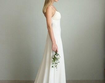 Ivory Dress, Boho Wedding Dress, Beach Wedding Dress, Bohemian Wedding Dress, Boho Bridal Dress, Rustic Wedding Dress, Boho Wedding Gown