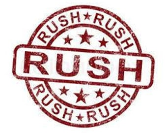 Rush Processing (1 day)