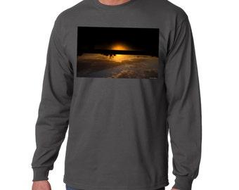 AEDRAN: 'Tropic' -Graphic Long Sleeve Tshirt