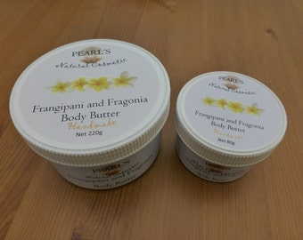 Frangipani and Fragonia Body Butter, Vegan
