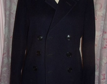 A beautiful vintage peacoat