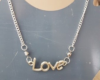 Nice necklace Love