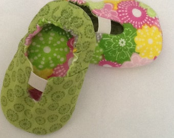 Reversible Baby Slippers