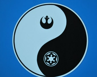 """Balance in the Force Vinyl Decal 3.5"""""""