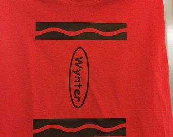 Crayola Crayon Shirt
