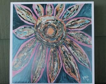 Hippie Chic Lilac Sunflower