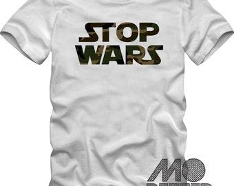 "Stop Wars T-Shirt ""Star Wars"" theme"