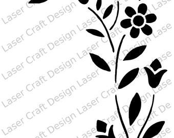 Flower Stencil No.4