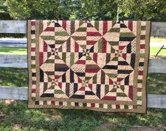 Handmade Lap Quilt