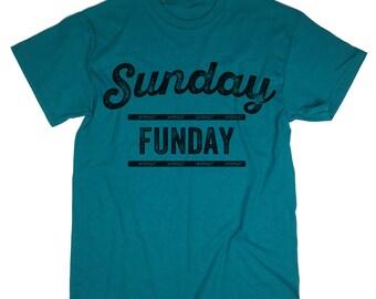 Sunday Funday T-Shirt. Weekend Tee. Trendy Tee.
