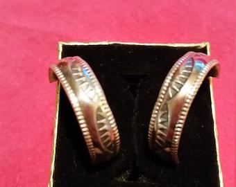 Wedding Band Earrings