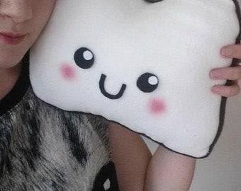 Kawaii Bread Plush Pillow