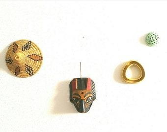 vintage masque, african, vintage, homedecor, wallhanging, global art, folkart, travel, eclectic, boho, african masque, wood figure, mystique
