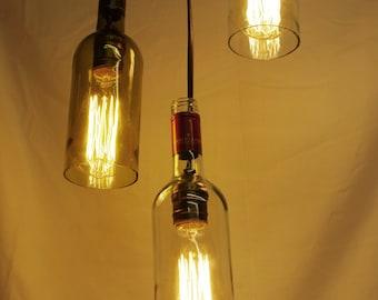 Vintage/Reclaimed Wine Bottle Lights