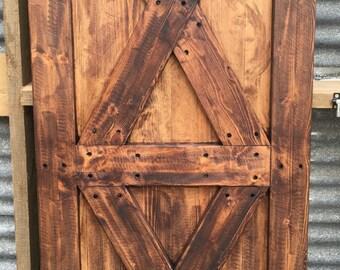 Rustic Handmade Door