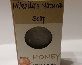 Mikaila's Natural Honey Soap