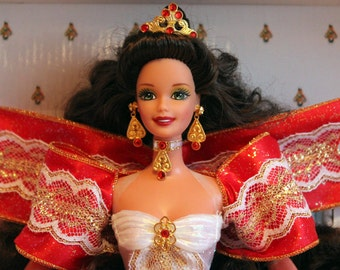 Happy Holidays Barbie Doll vintage // Happy Holidays Barbie //Vintage Barbie //Special Edition // 90s