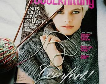 Winter 2011/2012 Vogue Knitting Pattern Magazine New