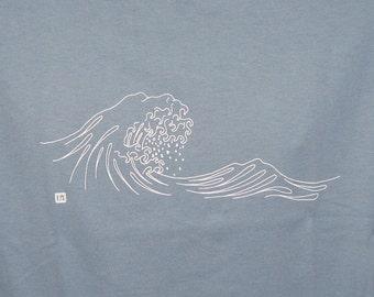 Japanese Wave T-Shirt - Great Wave - Kanazawa - Mount Fuji