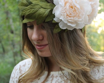 Bridal Crown, Bridesmaid Crown Boho Crown