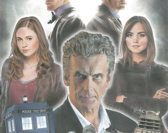 Doctor Who Limited Edition Art Print
