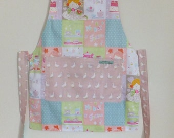 Girl's Apron - reversible