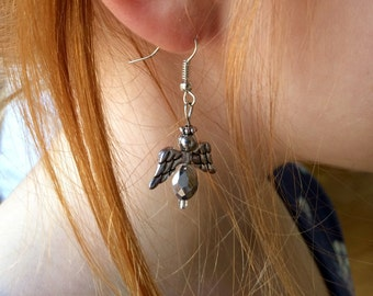 Angel Earrings (silver)