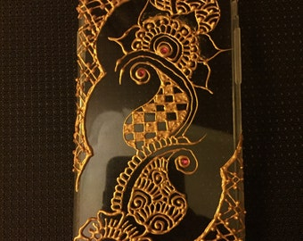 Henna Inspired Phone Case