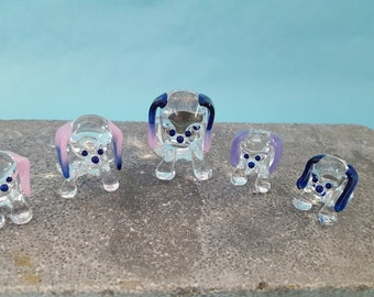 Dog Glass Family