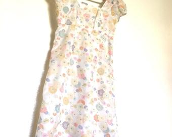 Flower Power Mini Juliette Dress