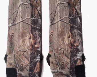 Real Tree Camo Nike Elite Socks