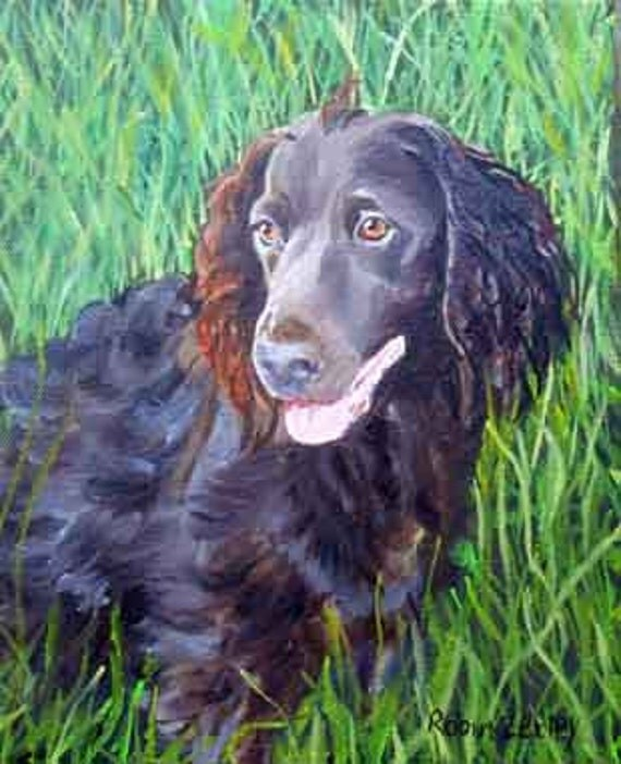Custom Pet Portrait, Fine Art Oil Painting