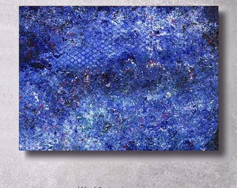 Original Abstract Painting on Canvas GALAXY