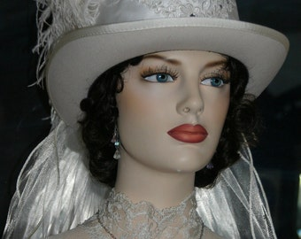 Victorian Riding Hat SASS Hats Victorian Top Hat ~ Lady Lisa