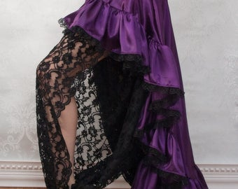 Black Lace Harem Pants - Sale