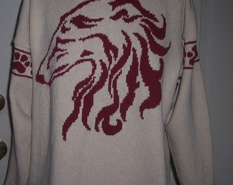 Custom Knit Borzoi / Russian Wolfhound Sweater ****Create your own sweater see below*****