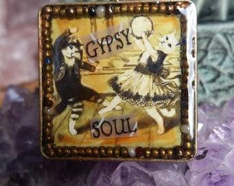 Gypsy Soul Cats Pendant