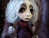 Loopy Southern Gothic Art Doll Victorian Dark Goth Mary Toppings