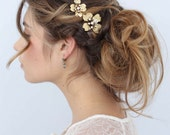 Bridal hair pins - Dogwood flower hair pin set of 2 - Style 659 - Ready to Ship