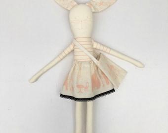 Make your own Rabbit kit vintage pink