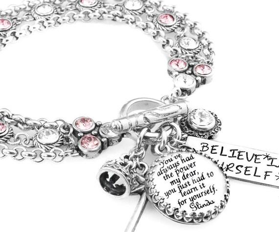 Inspirational Charm Bracelets: Inspirational Jewelry Inspirational Quote Bracelet